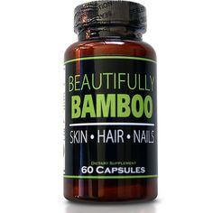 Beautifully Bamboo Ultra Hair, Skin and Nails formula