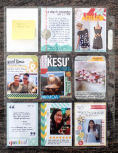 this blog really makes me want to start scrapbooking. i've been toying with the idea recently, and now i think i'm sold!