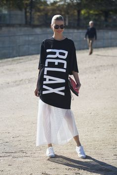 Tendencia Oversize - Cómo usar las prendas XL.