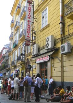 Pizzeria Da Michele, Naples. The place for the best pizza in the world!  Too bad it was closed for Holiday while I was living in Naples. :(  I must go back!