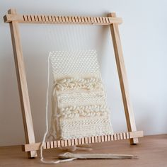 In this post I'll explore some basic weaving techniques that will help get your first weaving project started. I also have some tips on how to prevent one of the most common problems that all new… Pin Weaving, Weaving Tools, Weaving Projects, Weaving Art, Loom Weaving, Art Projects, Lucet, Weaving Textiles, Weaving Patterns