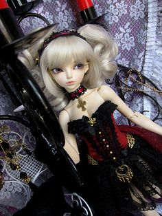 Goth art doll | Flickr - Photo Sharing!