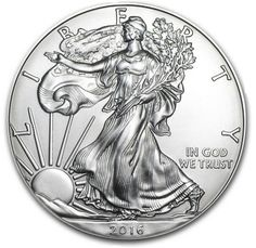 2016 1 oz Silver American Eagle Bullion Coin .9999 Fine Uncirculated | eBay