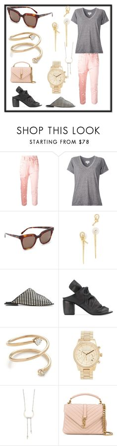 """""""fashion trends"""" by denisee-denisee ❤ liked on Polyvore featuring Haider Ackermann, Current/Elliott, MCM, Alexis Bittar, Manolita, Marsèll, ZoÃ« Chicco, Michael Kors, Rebecca Minkoff and Yves Saint Laurent"""