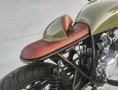 Custom Hand Fabricated Removable Seat Cowl KIT. Café Style Flat Seat. NOTE - Removable Seat Cowl KIT. · Will require some modification to fit to your build frame. · Steel Base or Wood Base. · Stitch Style (Caterpillar A/B Diamond Style A/B). | eBay!