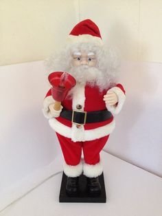 "Excited to share the latest addition to my #etsy shop: Large 27"" Animated Christmas Santa Claus Clause Motionette Telco Lighted Moving Electric Decoration Display Figure Figurine Doll Figural http://etsy.me/2ngMU37 #art #red #christmas #white #santa #santaclausfigural"