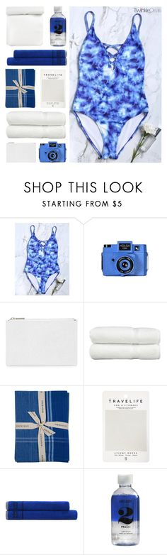 """""""Win a swimsuit contest"""" by potionchanel ❤ liked on Polyvore featuring Holga, Whistles, Linum Home Textiles, Sir/Madam, Mark's Tokyo Edge, Tommy Hilfiger and Lord & Berry"""