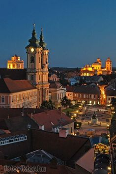 """Places I will go with you"" Eger :) Most Beautiful Cities, Amazing Places, Hungary Travel, Budapest Hungary, Slovenia, Empire State Building, Austria, Places Ive Been, The Good Place"