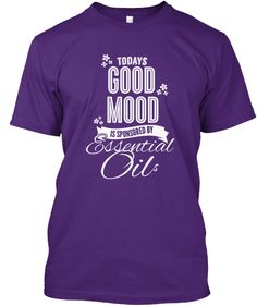 TODAY'S GOOD MOOD - ESSENTIAL OILS!