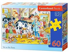 Castorland Vet at The Farm Classic Jigsaw (60-Piece) by Castor *** Want to know more, click on the image.