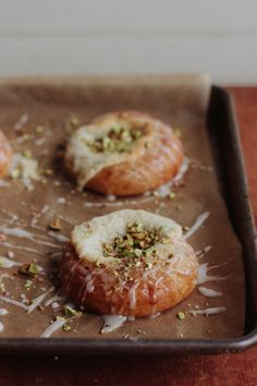 {Goat cheese in a pastry. I am in love.} Brioche Danish with Goat Cheese & Pistachios | Bread In Five