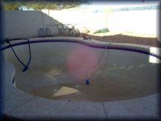 Pool Care Plus, Pool service Drained (before acid wash) Pool Care, Pool Service, Sun City