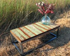 Reclaimed Coffee Table {First in a Series}, Rustic and Industrial