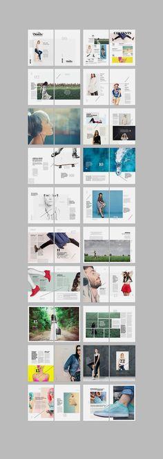 Trendy Ideas For Fashion Editorial Design Layout Colour Portfolio Design, Mise En Page Portfolio, Fashion Portfolio, Portfolio Covers, Portfolio Layout, Design Brochure, Brochure Layout, Booklet Design Layout, Layout Book