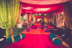Looking for moroccan theme seating? Browse of latest bridal photos, lehenga & jewelry designs, decor ideas, etc. on WedMeGood Gallery.
