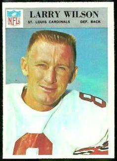 #2 Larry Wilson - 1966 Philadelphia #168 | Larry Wilson 1966 Philadelphia ...