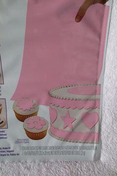 Wilton Sugar Sheet Pink For Cake & Cupcakes Decorating New Sheet Cakes Decorated, Sugar Sheets, Cupcakes Decorating, Pink Sugar, Paper, Tableware, Dinnerware, Decorate Cupcakes, Tablewares