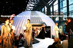 Inflatable dome tent shelter quick fashion show booth Email: newpoint03@163.com Phone: +8613557045603    ^_^