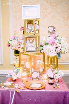 Inkandpaper - WedLuxe Wedding Show 2014 Booth Display