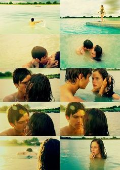 Freddie and Effy. Finally had a chance to be openly in love with each other and the shows kills him. Thanks. Thanks a lot.