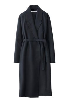 Clean and immaculate, just like everything else Christophe Lemaire touches.  Uniqlo and Lemaire cashmere-blend coat, $189.90, uniqlo.com.   - MarieClaire.com