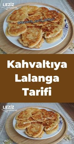 Kahvaltıya Lalanga Tarifi – Leziz Yemeklerim – Tatlı tarifleri – The Most Practical and Easy Recipes Turkish Breakfast, Breakfast Time, Breakfast Recipes, Pancake Recipes, Food Porn, Cooking Recipes, Healthy Recipes, Turkish Recipes, Love Food