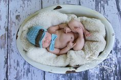 Bowtie Baby - Newborn Newsboy Hat and Bowtie Newborn Pictures, Newborn Pics, News Boy Hat, Toddler Outfits, First Photo, Children Photography, Baby Toys, Baby Newborn, Gifts For Kids