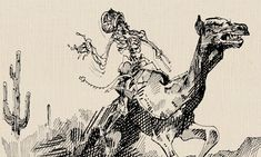 That time the Army let loose a plague of feral camels on the Wild West. Ghost Legend, Red Ghost, Urban Legends, Camels, American Civil War, Military History, Wild West, Weird, Army