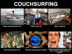 The truth about Couchsurfing.
