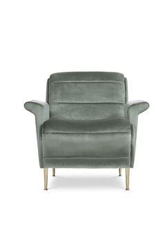 True Velvet Touch With Bardot Armchair. Find This Midcentury Modern Piece  At Maisonu0026Objet Paris!