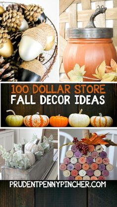 Dollar Tree Decor, Dollar Tree Crafts, Girls Night Crafts, September Crafts, Harvest Decorations, Halloween Decorations, Fall Projects, Diy Projects, Fall Diy