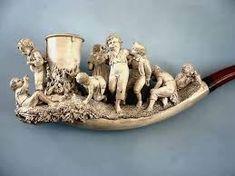 Znalezione obrazy dla zapytania antique meerschaum pipe collectors