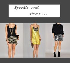 STYLE 1: Sparkle and Shine! Have you decided what to wear for NYE???  www.urban-philosophy.com   Hurry! FREE EXPRESS SHIPPING now for for new year's eve! #fashion #urbanphilosophy #style #sequence #shopping #nye