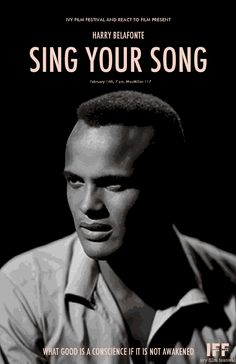 Sing Your Song, Harry Belafonte