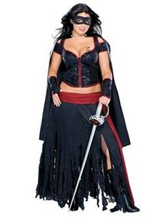 Bring justice to your villa in our Lady Zorro Costume for women! Plus Size Lady Zorro Costume features a corset top, red trim and Z-insignia, matching skirt, and black Zorro eye mask. Sexy Halloween Costumes, Adult Costumes, Costumes For Women, Halloween Ideas, Halloween Stuff, Halloween Party, Blue Costumes, Woman Costumes, Halloween 2014