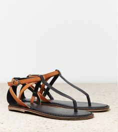 AEO STRAPPY SANDAL on Wanelo