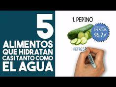5 alimentos que hidratan tu cuerpo casi tanto como el agua