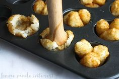 These Cheeseburger tots are tater tot bites filled with hamburger, cheese, pickles, and a special sauce. It's like a bite size Big Mac served in a tater tot cup! This is an easy game day recipe for your upcoming super bowl party! It is an easy party food recipe that is going to wow your friends and family. Tater tots + Cheeseburger = instant winner!