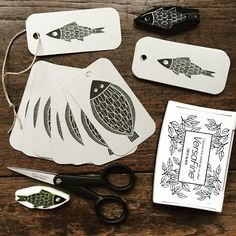 I have been busy printing and cutting fish labels. These little fellows can be…