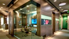 Awesome glass consult room