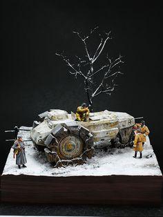 GERMAN VsKfz 617 MINENRAUMER