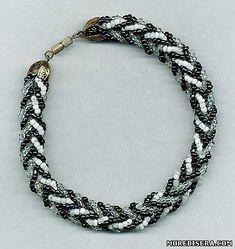 Plait braid of beads Tutorial - 1