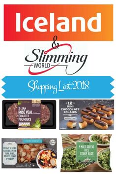 Shopping List of Low Syn and Syn Free foods from Iceland on the slimming world plan. 2018 astuce recette minceur girl world world recipes world snacks Shopping List of Low Syn and Syn Free foods from Iceland on the slimming world plan. Iceland Slimming World Meals, Slimming World Syns List, Slimming World Survival, Slimming World Treats, Slimming World Dinners, Slimming World Recipes Syn Free, Slimming World Plan, Slimming Eats, Syn Free Food