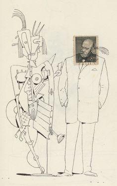 Bill Mayer Stamps Sketchbook