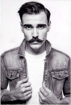What is Handlebar mustache? How to grow, trim & maintain it the right way? Learn all these plus 40 coolest handlebar mustache styles to rock. Beards And Mustaches, Moustaches, Mustache Grooming, Men's Grooming, Handlebar Mustache, Beard No Mustache, Moustache En Crocs, Street Style Vintage, Men Wear
