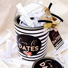 You can either enjoy this gift of dating all year round with your spouse or give as the perfect gift to your newlywed friends. This is a Diva Central EXCLUSIVE, gift that keeps on giving!!!