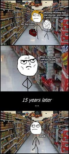 Rage Comics: Wish I was still a kid...