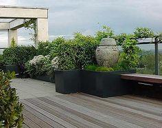 Hardhouten terrassen en vlonders