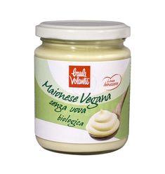 Top Vegan Mayonnaise (Bio) Vegan Food, Vegan Recipes, Vegan Mayonnaise, Coconut Oil, Jar, Products, Mayonnaise, Vegan Sos Free, Vegan Meals