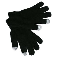 Private Island Party  - Touchscreen Black Texting Gloves 5047, $4.99 (http://privateislandparty.com/products/touchscreen-black-texting-gloves-5047/)